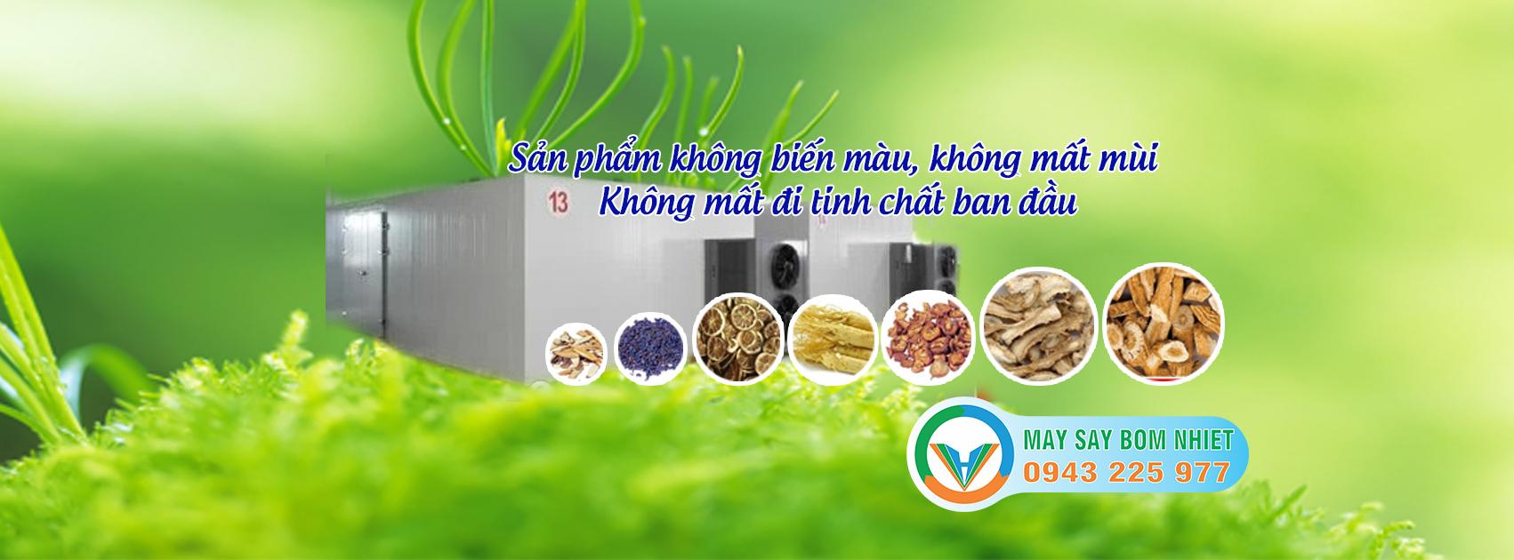 Sấy khô nông sản bằng phương pháp sấy lạnh