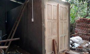 Lò Sấy gỗ bằng máy sấy đa năng – Công ty TNHH Hoàng Vũ Vina