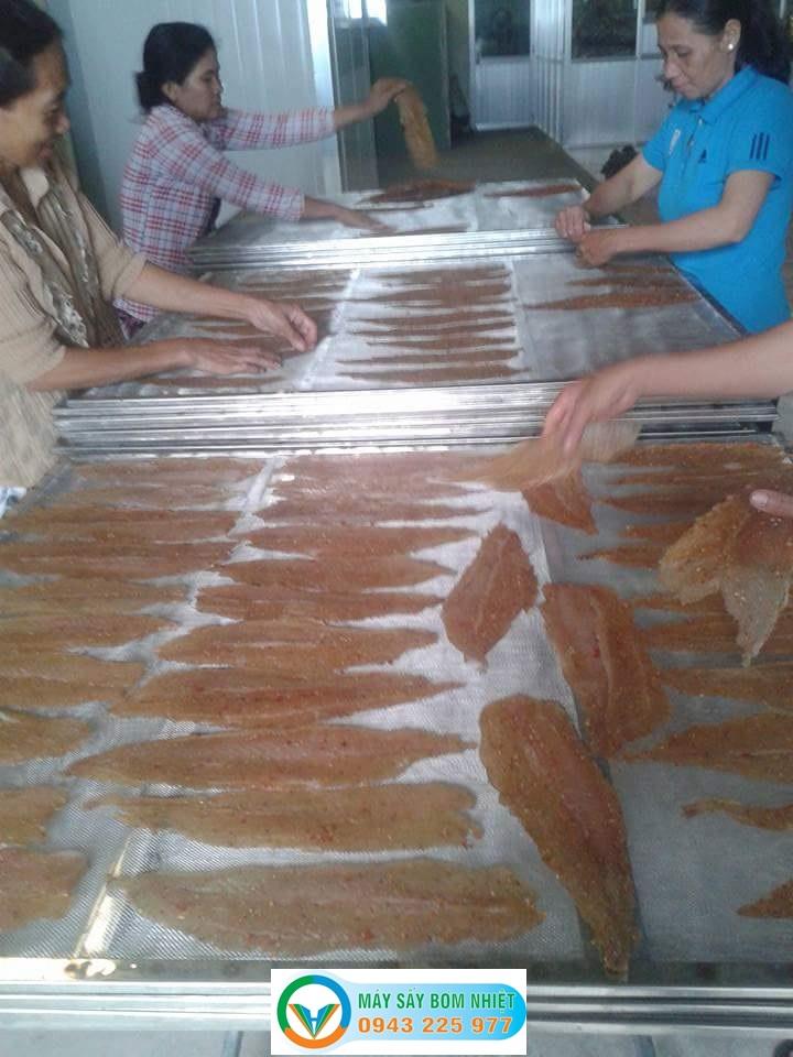 Máy sấy hải sản bơm nhiệt