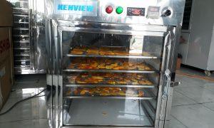 Bí đỏ sấy khô bằng máy sấy thực phẩm đa năng kenview