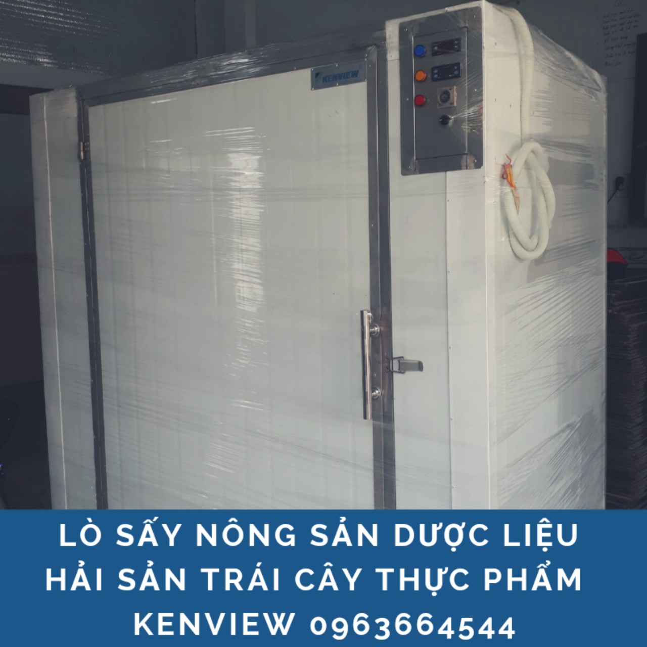 Kenview cung cấp máy sấy nông sản, dược liệu, hải sản ở Quảng Ngãi
