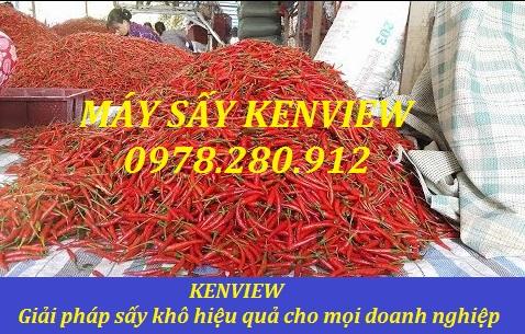 Máy sấy ớt khô   Máy sấy nông sản Kenview   0978.280.912