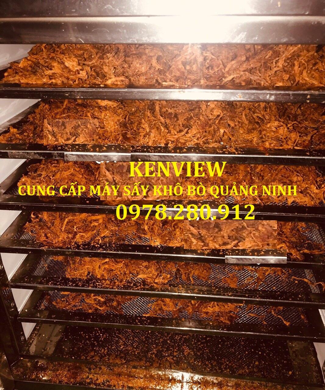 Máy sấy khô bò tại Quảng Ninh
