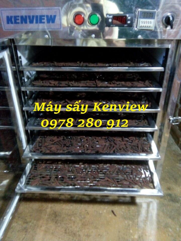 Máy sấy nông sản Kenview- Khách sấy tiêu lốt tại Gia Lai. 0978.280.912