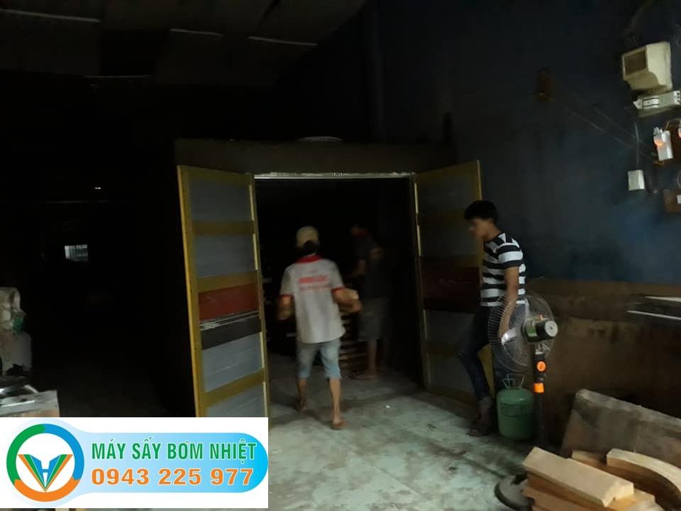 Lắp đặt máy sấy gỗ Tiền Giang