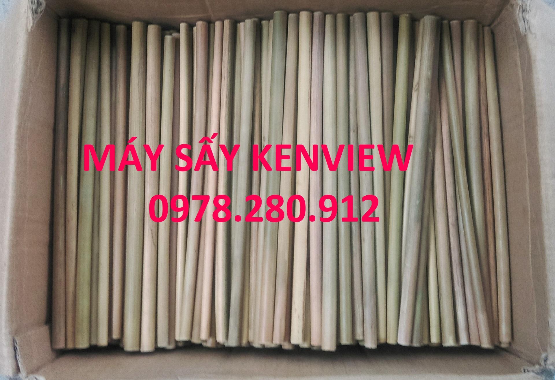 Kenview cung cấp máy sấy ống hút tre sậy tại Bến Tre. 0978.280.912