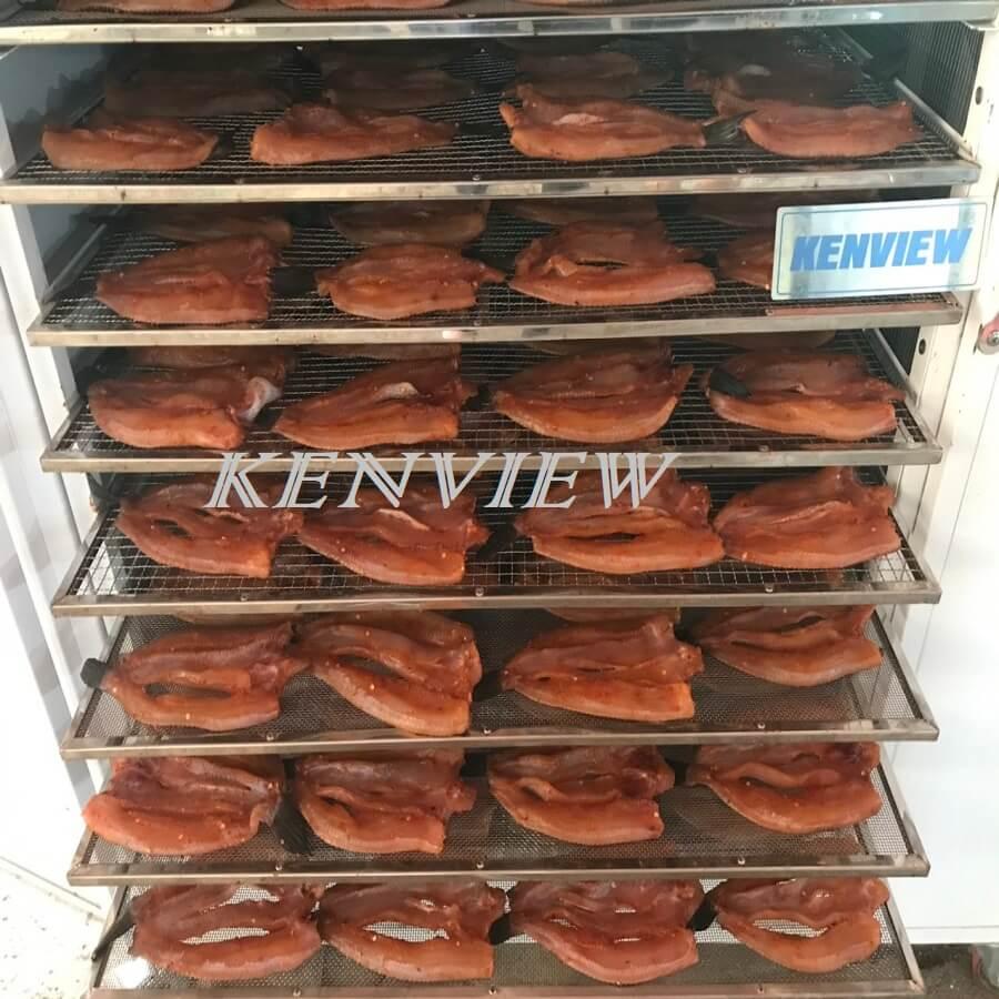 Sấy khô cá lóc trong 6h bằng máy sấy Kenview. 0977 658 516