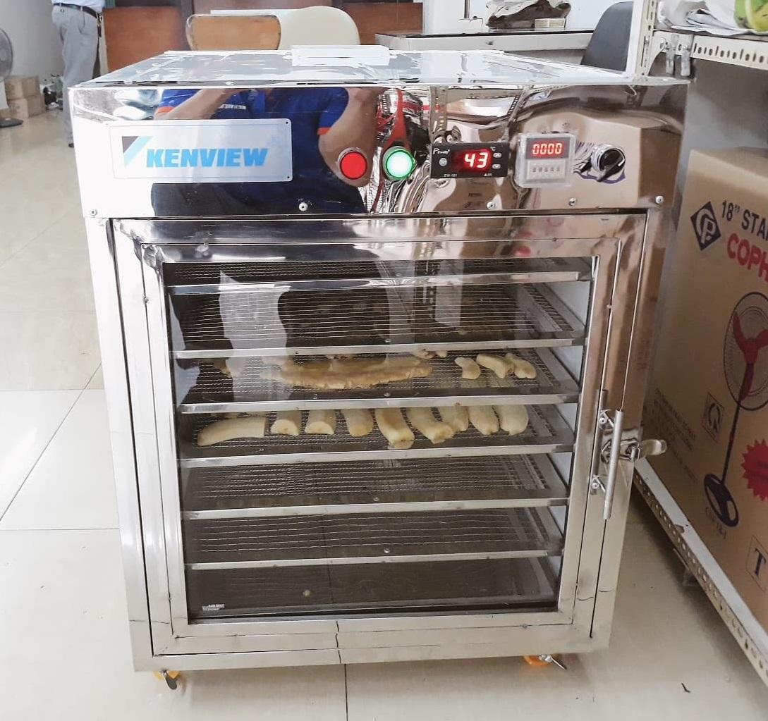 Cung cấp máy sấy trái cây sấy chuối Quảng Minh Hải Dương
