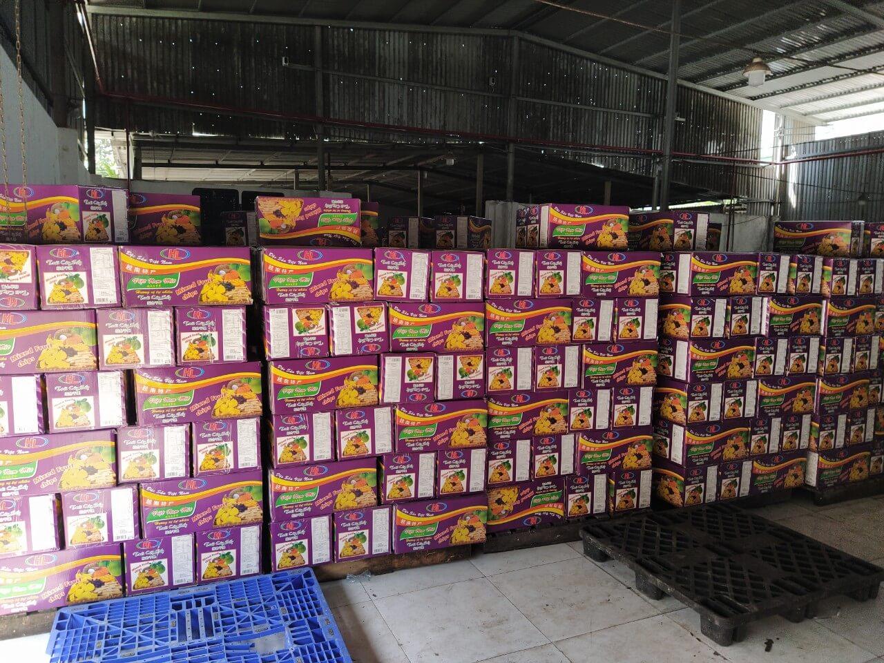Hoa quả sấy dẻo bằng Máy sấy Kenview đạt chất lượng xuất khẩu