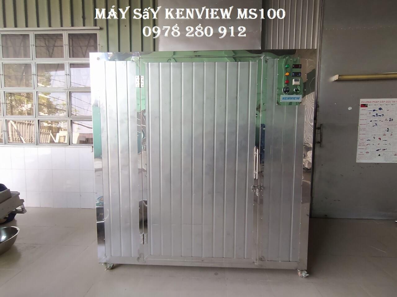 Máy sấy hạt điều Kenview tại Bình Thuận. Sấy nhanh, khô đồng đều.
