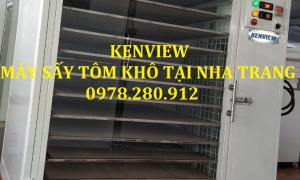 Máy sấy hải sản Kenview- Tiếp tục cung cấp máy sấy tôm khô tại Nha Trang.0978280912