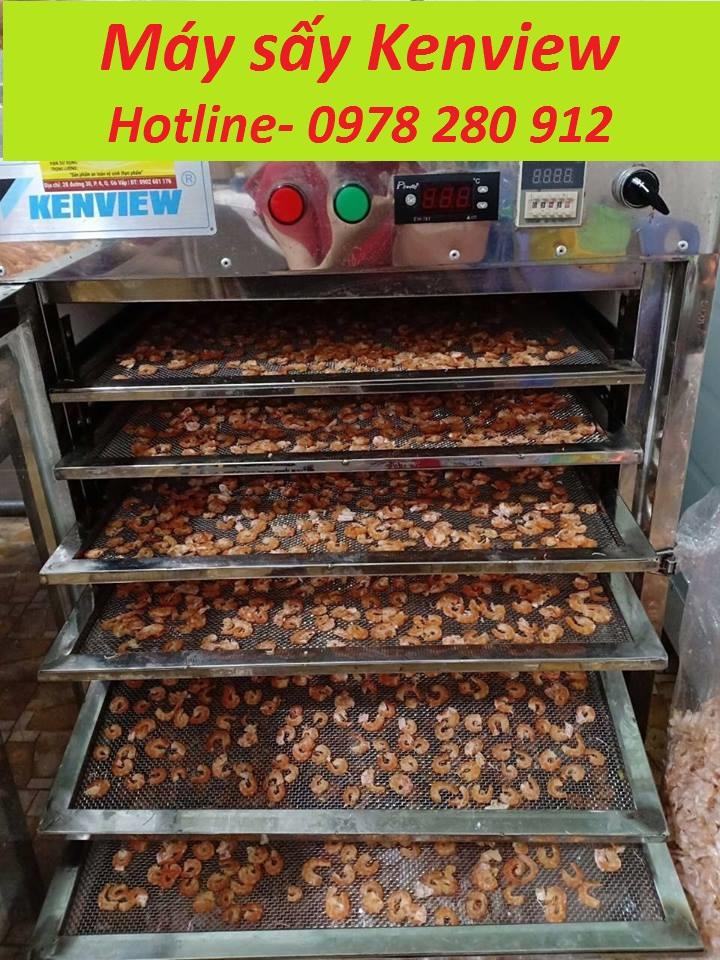 Kenview cung cấp máy sấy hải sản- sấy tôm tại Quảng Ninh. 0978.280.912