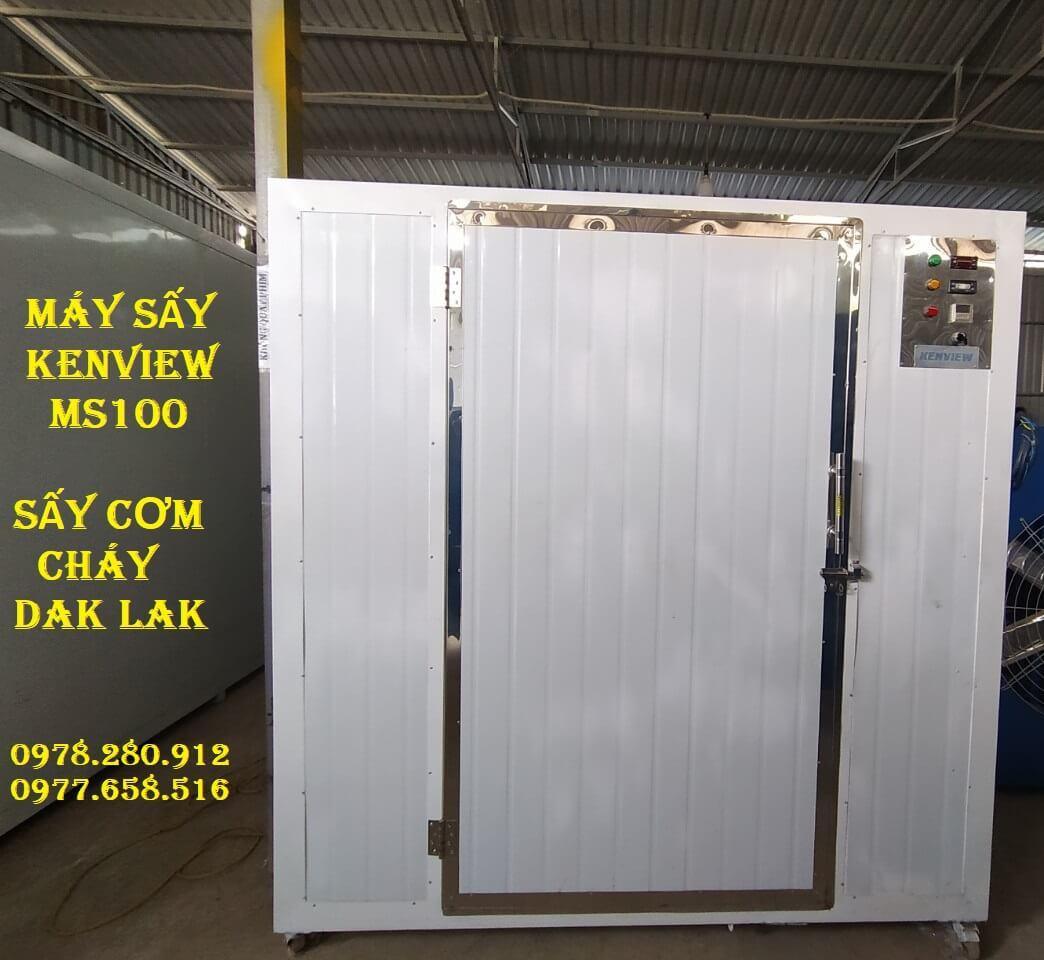 Máy sấy công nghiệp Kenview, tiếp tục cung cấp máy sấy cơm cháy tại Đak Lak.