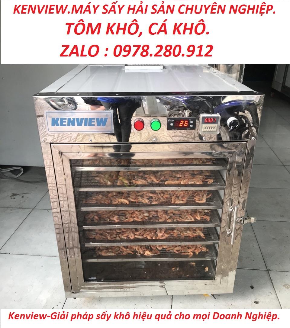 Kenview cung cấp máy sấy hải sản- tôm khô cá khô tại Hải Phòng. 0978.280.912