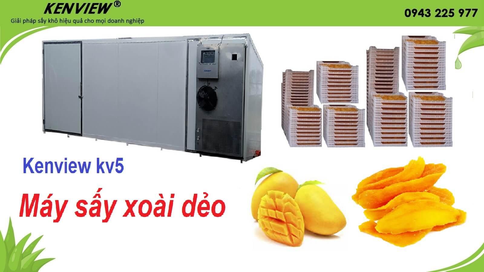 Máy sấy lạnh bơm nhiệt Kenview