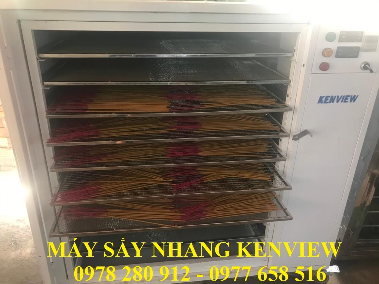 Mẫu nhang Khách tại Bình Định ghé Kenview sấy mẫu