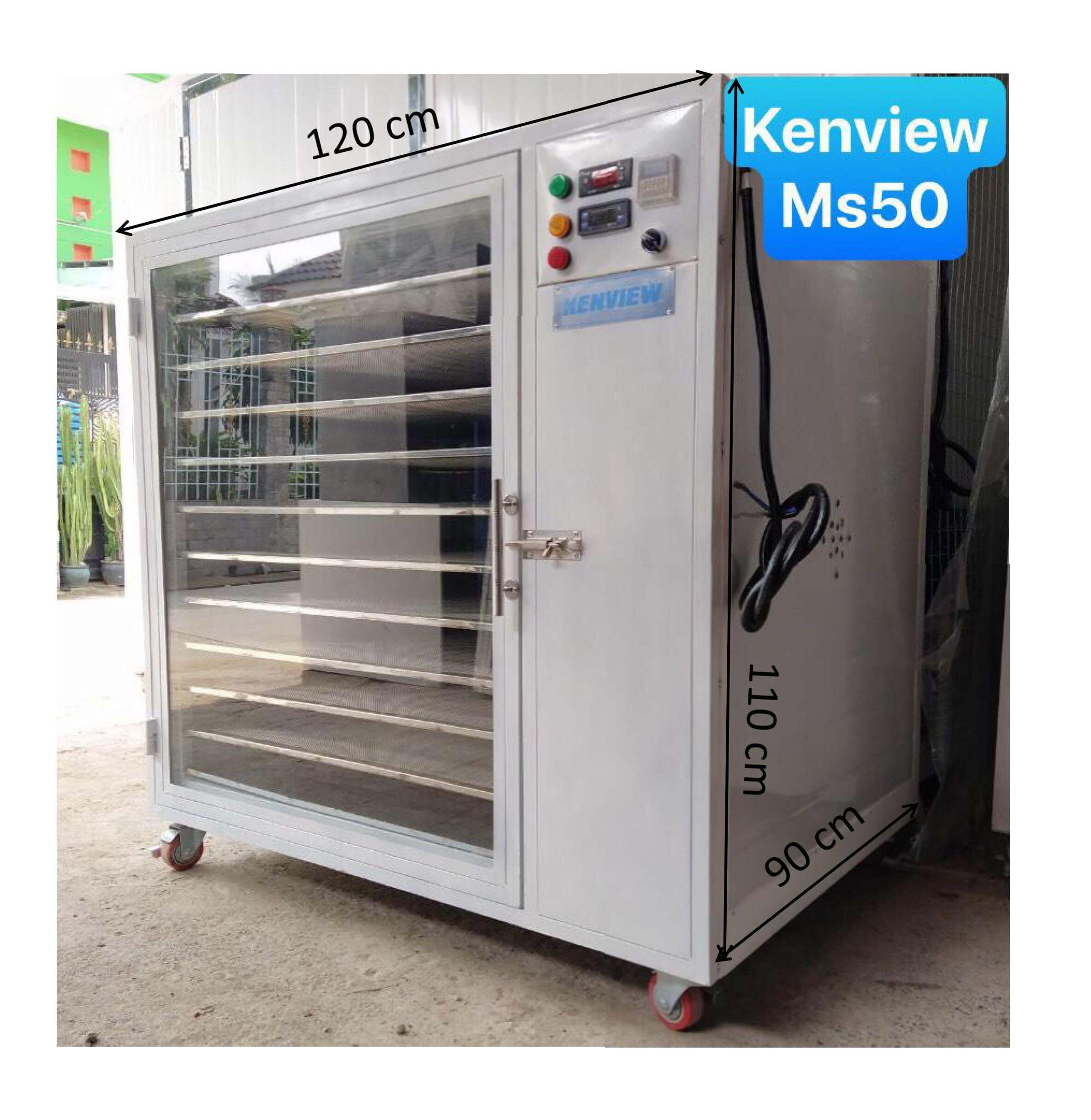 Máy sấy nhang Kenview MS50