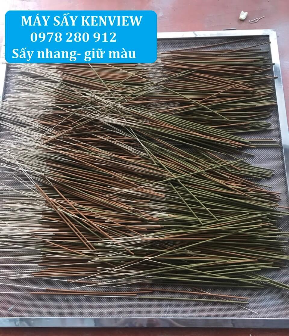 Máy sấy nhang (máy sấy hương) Kenview tại Bình Thuận