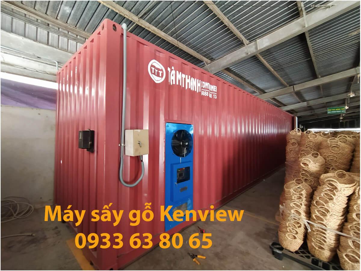 Lò Sấy gỗ công nghệ mới – Công ty cổ phần KENVIEW