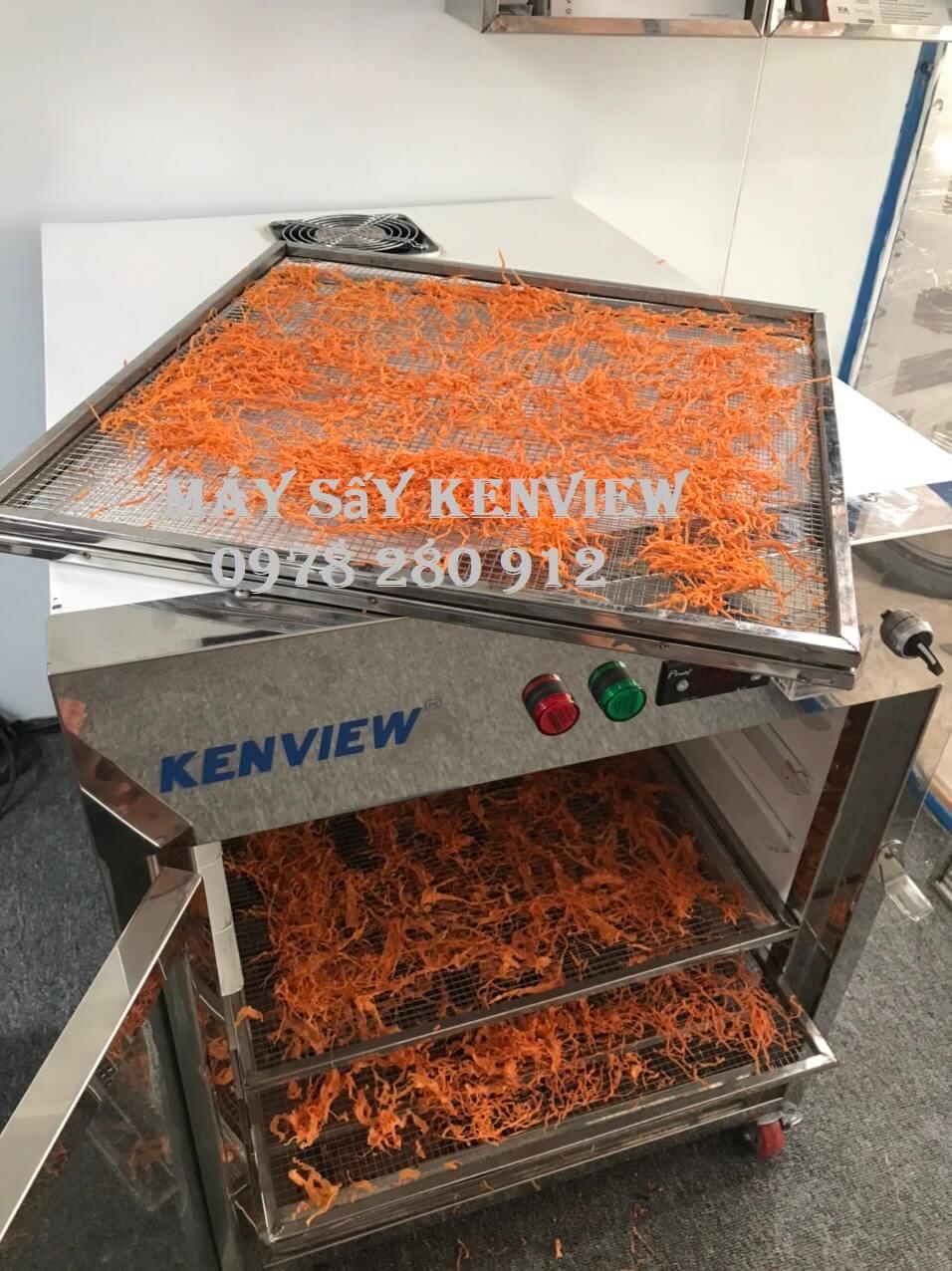 Hoa quả Khách sấy bằng Máy sấy Kenview