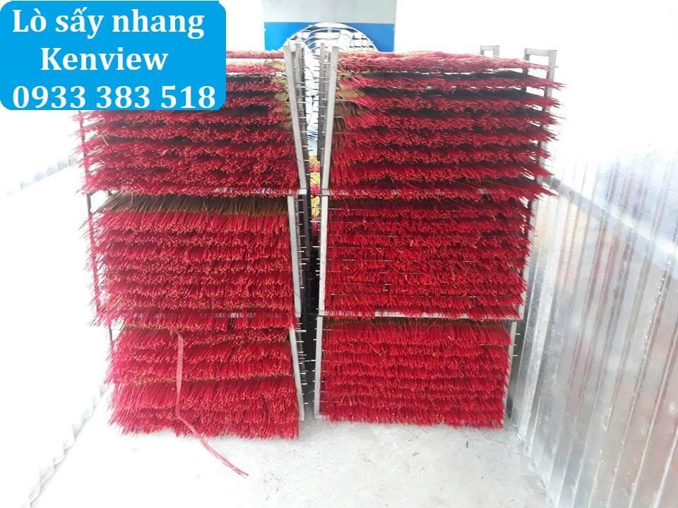 Máy sấy nhang Kenview tại Đồng Nai