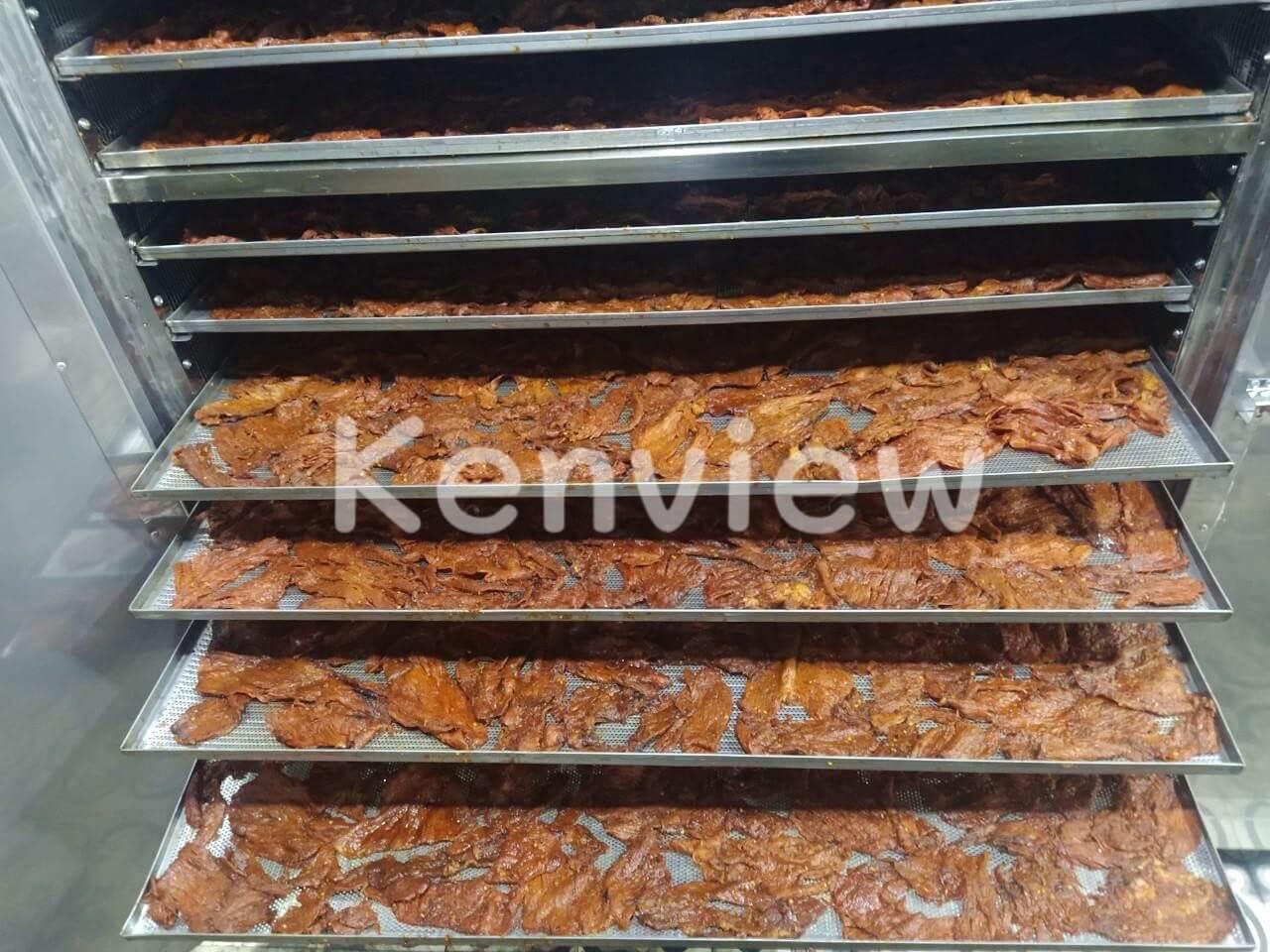 Khô bò Thu Ba được sấy bằng máy sấy Kenview