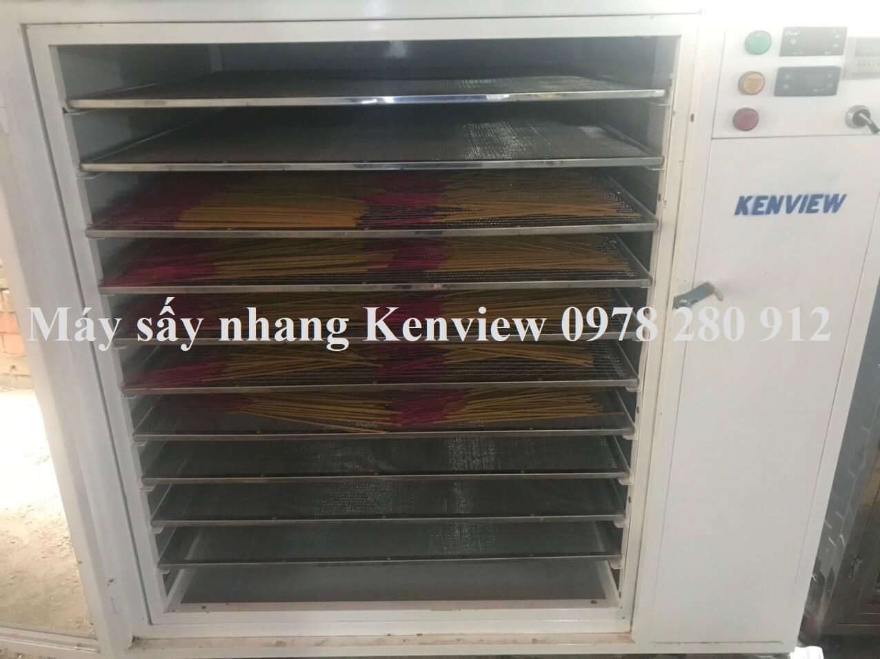 Máy sấy nhang Kenview tại Quảng Nam 0978 280 912