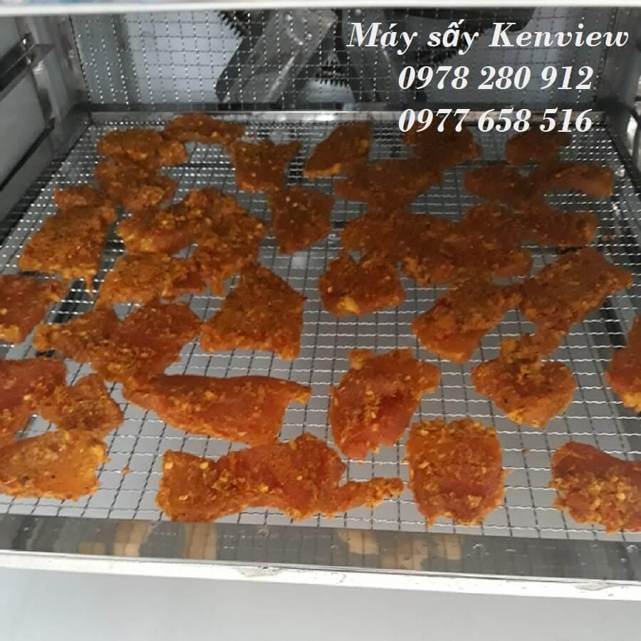 Máy sấy thực phẩm Kenview sấy khô bò