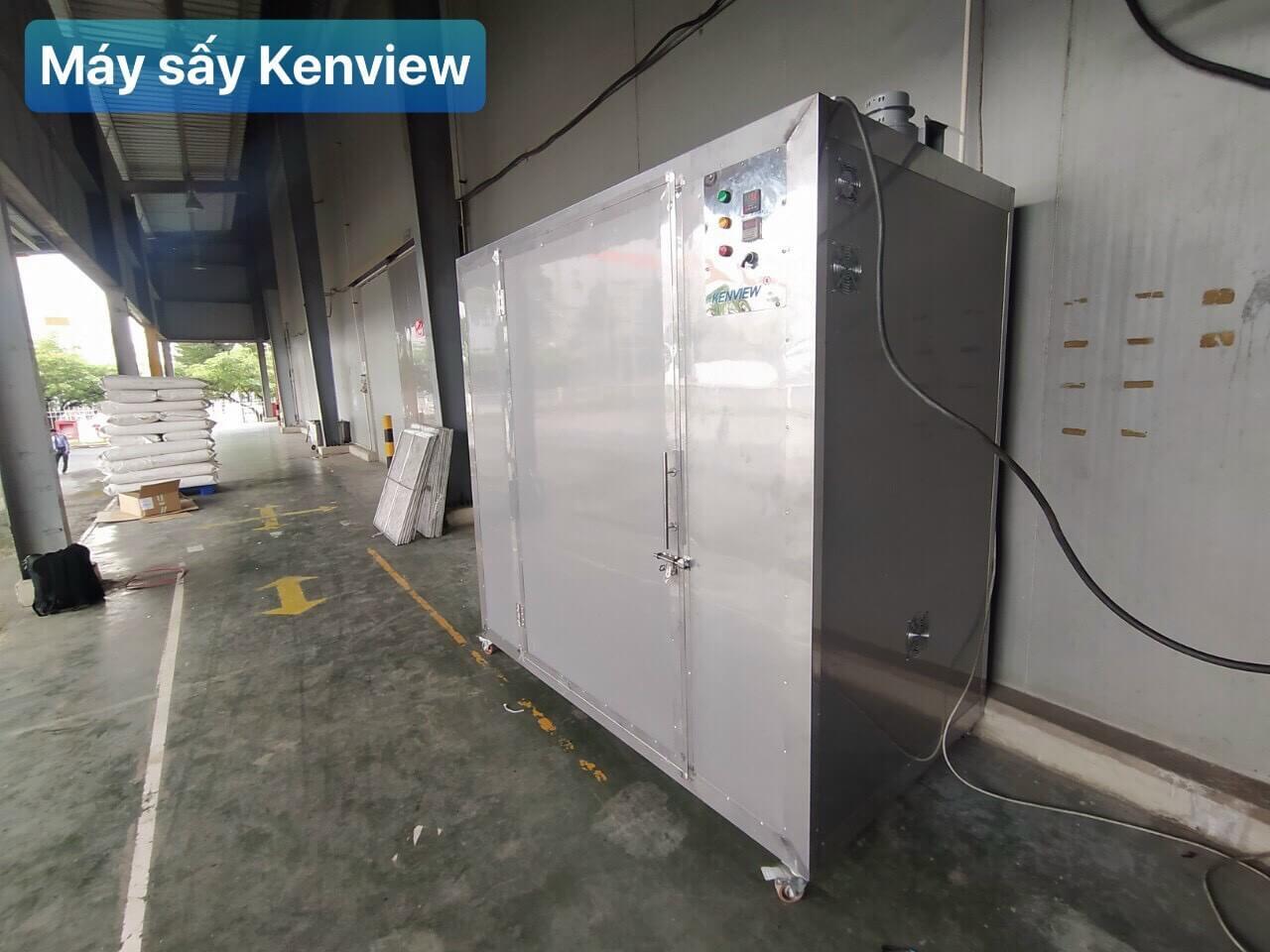 Máy sấy thức ăn gia súc Kenview tại Quảng Ngãi